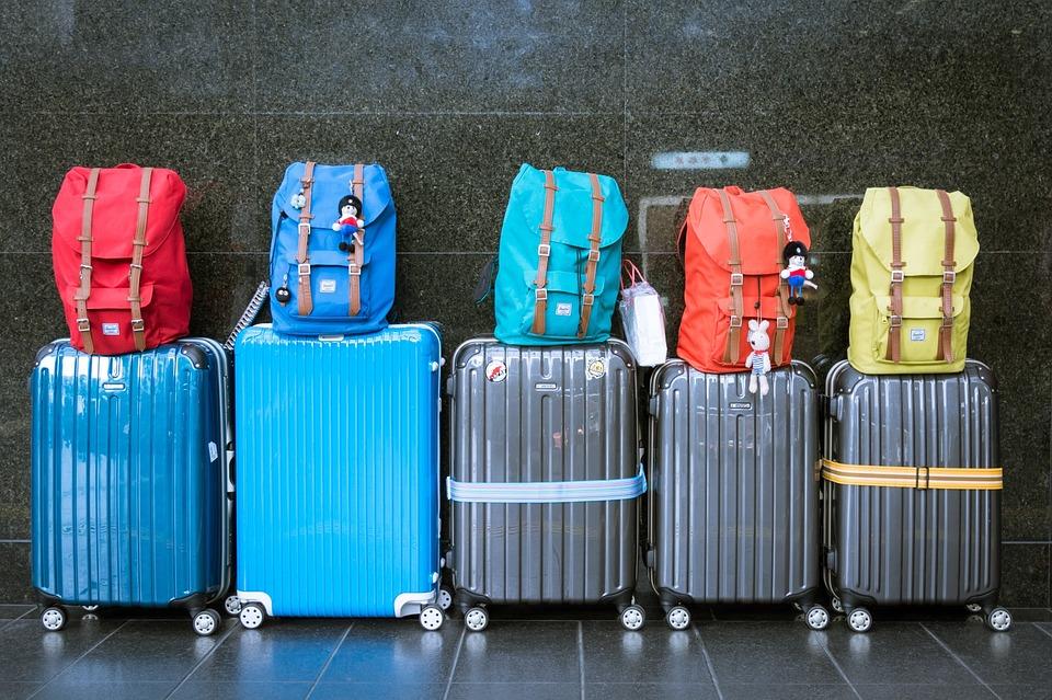 一時帰国のスーツケース