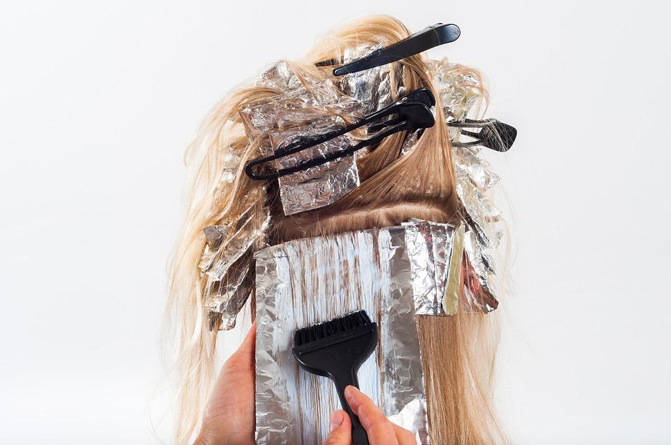 アメリカのヘアカラー