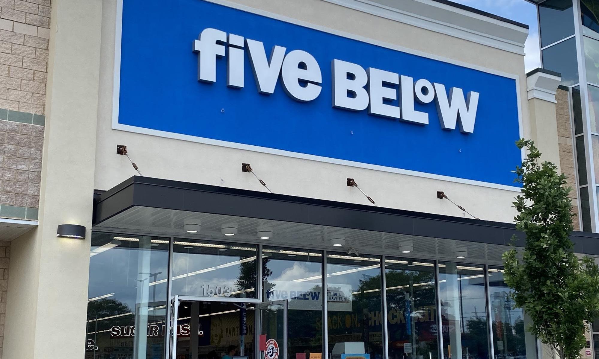 five below ファイブビロー